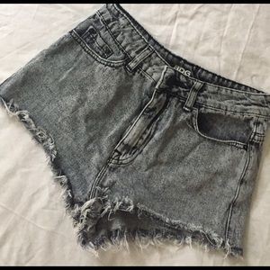 Urban Outfitters Pants - Urban Outfitters gray BDG high waisted shorts