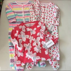 Carter's Other - Set of 3 Carters One pieces NWT Size 9 months