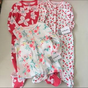 Carter's Other - Set of 3 Carters One pieces NWT Size 6 months