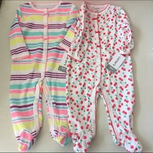 Carter's Other - Set of 2 Carters One pieces NWT Size 6 months
