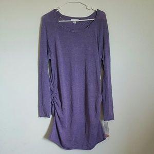 Liz Lange Maternity Knee Length Sweater Dress XL
