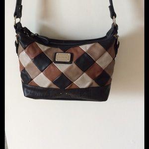 Stone Mountain Handbags - ❤SALE❤ Stone Mountain leather patchwork bag