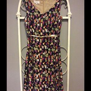 Kasper Dresses & Skirts - colorful fit and flare dress by Kasper