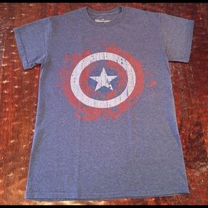 Marvel Other - Marvel Men's Captain America Graphic Tee