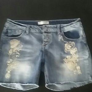 no boundries Pants - No Boundaries cute jeans shorts