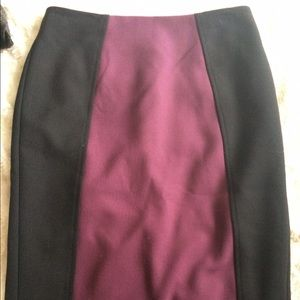 Halogen Dresses & Skirts - Halogen cute purple pencil skirt