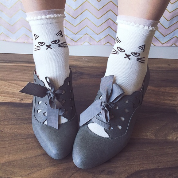 ModCloth Shoes - BAIT Hermosa heels in slate grey