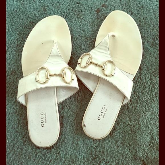 3c083cff679 Gucci Shoes - AUTHENTIC GUCCI Sand Pelle S Cuoio Sandals
