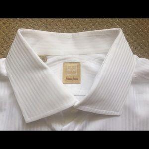 """Ike Behar Other - Ike Behar 16.5x35"""" Custom White on White FC Shirt"""
