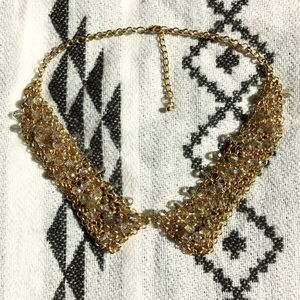 ASOS Beaded Chain Bib Necklace
