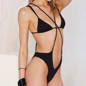 Minimale Animale Other - Minimale Animale Black One Piece