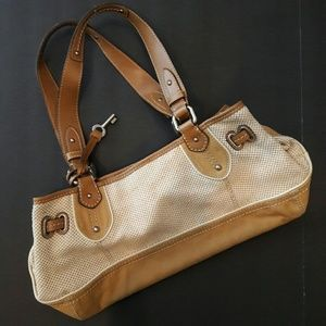 Fossil Handbags - Fossil - Authentic tan large purse