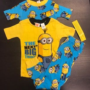 Other - Despicable ME licensed 3-piece pajama NEVER WORN