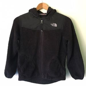 North Face Other - North Face // Hooded Fleece Jacket - black
