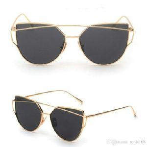 NIP Double Metal Bridge Sunglasses