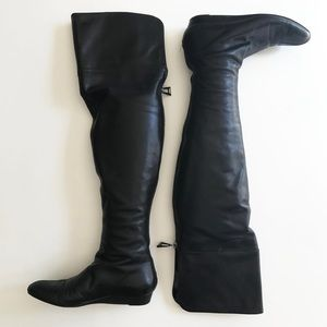 7 For All Mankind Shoes - 7 For All Mankind Leather Over the Knee Boots