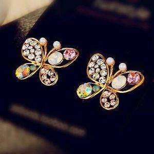 Jewelry - Butterfly Stud