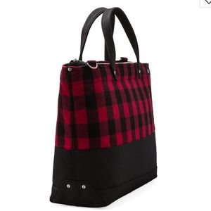 2d9e938b69e4 Jack Spade Bags - Jack Spade Zip Coal Bag Buffalo Check NWT