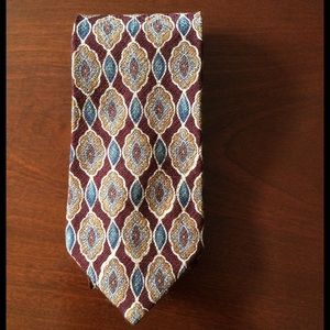 Burberry of London 100% pure silk tie