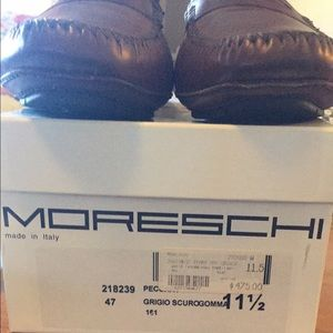 Moreschi Shoes - Never worn Moreschi brown leather loafers