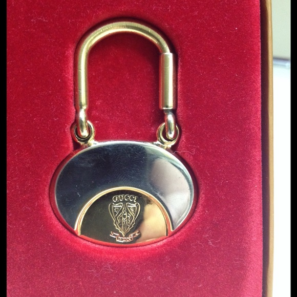 53e1d5c6d02 Gucci Other - Gucci Vtg Auth Centennial Founders Key Chain Ring