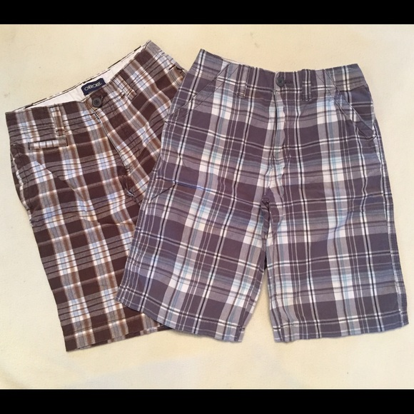 Other - Lot of 2 Boys Plaid Shorts
