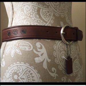 Woolrich Accessories - Woolrich Hibiscus Flower Belt