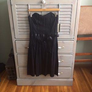 Closet London Black Eyelet Occasion Dress US 6
