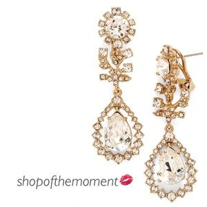 Marchesa Jewelry - 💫🆕 Marchesa Crystal Leaves Drop Earrings