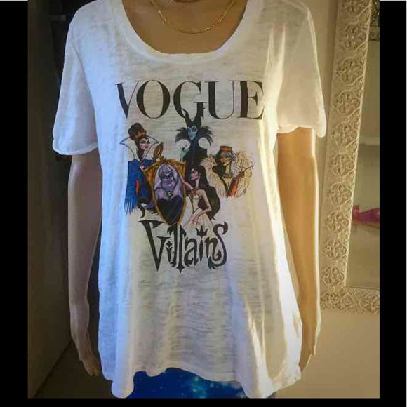 739279c40cb Vogue Disney Villains t-shirt Large extra large