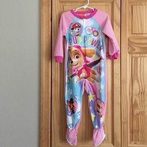 Nickelodeon Other - Nickelodean Paw Patrol footed pajamas