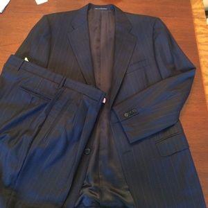 Ermenegildo Zegna Other - Navy Pin 2 Button Zegna Suit&Pants