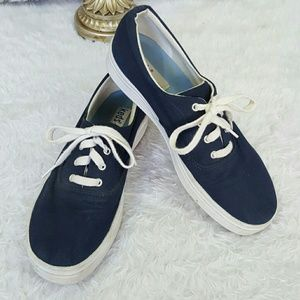 Keds blue canvas sneakers