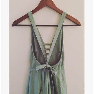 Sabo Skirt Dresses & Skirts - Beautiful Sabo Skirt Low Back Tie Dress size XS