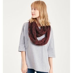 Accessories - NWT marled infinity scarf in purple