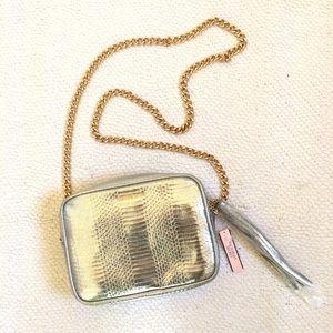 Victoria's Secret Handbags - NWT Victoria's Secret Metallic Crossbody Bag