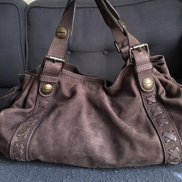 4a27d8971425a Gerard Darel Bags   24h Nubuck Leather Handbag   Poshmark