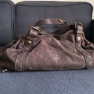 decee04a34ccd Gerard Darel Bags - Gerard Darel 24h Nubuck Leather Handbag