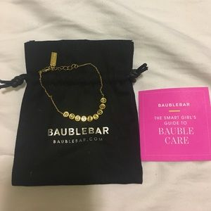 Bauble Bar Jewelry - Emma Roberts for Bauble Bar #Obsessed Bracelet