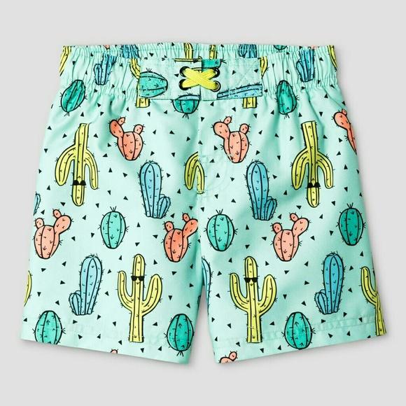 c765620abe Cat & Jack Swim | Toddler Boys Cactus Print Trunk Cat Jack | Poshmark