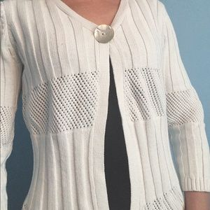 CHOISE Sweaters - Choice White sweater cardigan