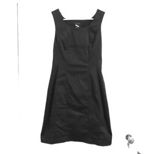 The Limited sleeveless black dress