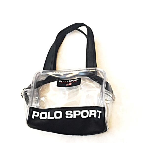 ... Polo Sport clear mini hand bag. M 58b9faccf09282034f027f37 1df24132be6e7