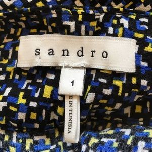 Sandro Pants - ⚡️SALE⚡️NWOT Sandro Printed Straight Leg Pants