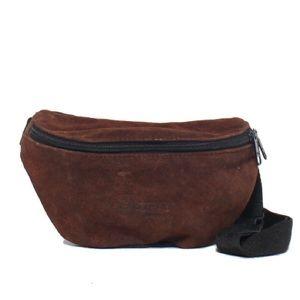 Eastpak Handbags - EastPak Brown Suede Fanny Pack