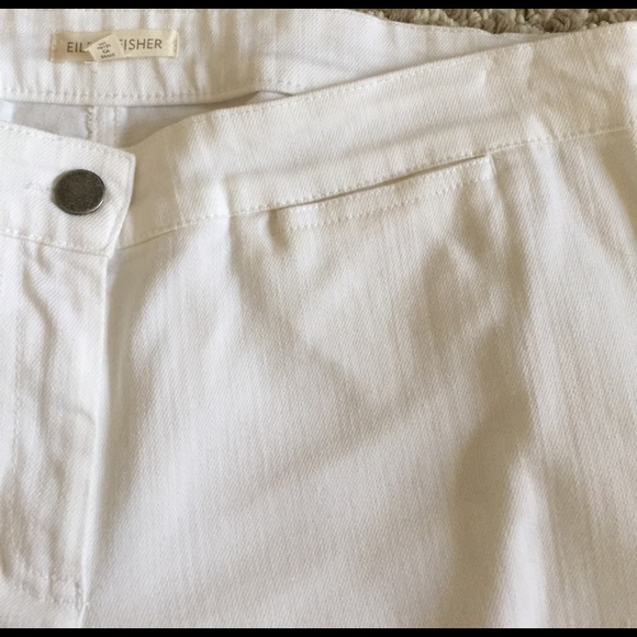 Eileen Fisher Pants - Eileen Fisher organic cotton pants white sz S