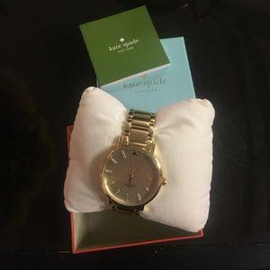 Brand New Kate Spade Gramercy Bracelet Watch- Gold