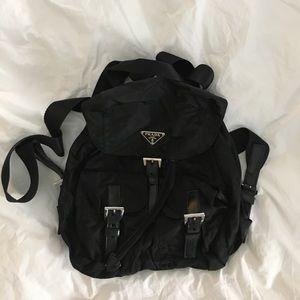 Nylon Prada Backpack - authentic