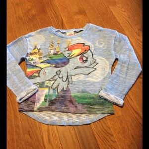 My Little Pony Other - Girl's Cropped My Little Pony size M 7/8