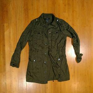 Forever 21 cargo camo jacket